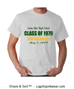 S.R. H.S. Class of 79 t-shirt Design Zoom